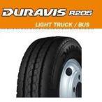 ブリヂストン DURAVIS R205 205/65R16 109/107L リブ チューブレス