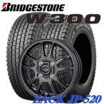 145R12 6PR 軽トラック・軽バン用スタッドレスタイヤ4本セット ブリヂストン W300 12X4.00B 4穴 PCD:100 ZACK Sport-10