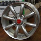 FIAT 500/フィアット500【アルミ単品4本価格】AGA 500 14X5.5J 4穴 PCD:98 +35