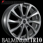 プリウス/ラクティス【アルミ単品4本価格】BALMINUM TR10/バルミナ TR10 16X6.0J 5穴 PCD:100
