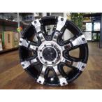 軽トラ&軽バン(アルミ単品4本価格)GEAR BEAST  12X4.00B 4穴 PCD:100 +43 ブラックポリッシュ