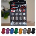【KICS/キックス】LEGGDURA RACING/レッデューラレーシング ロックナットセット 12X1.25 カラー:全7色4穴(16個入り)