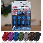 【KICS/キックス】LEGGDURA RACING/レッデューラレーシングナットセット 12X1.25 カラー:全7色4穴(16個入り)