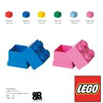LEGO MINI BOX4 Bright Red/Bright Blue/Bright Yellow/Drak Green/Royal Blue/Bright Pink etc レゴ ミニボックス4/ROOM COPENHAGEN 代引き不可