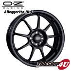 18インチ【OZ ALLEGGERITA-HLT(アレジェリータ)】18×7.5J 5/112 +50【MB(マットブラック)】【VW】【AUDI】
