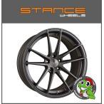 【V36スカイライン/レクサス GS/マスタング】 【STANCE SC-1】20×8.5J ET35&10.5J ET45 スレートグレー 【245/35R20 & 275/30R20】4本セット価格