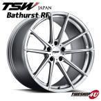 18インチ【TSW Bathurst RF(バサーストRF)】18×8.0J 5/114.3 +35【シルバー/ミラーカットフェイス】【1880】