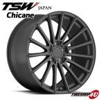 18インチ【TSW Chicane(シケイン)】18×8.5J 5/120 +20【マットガンメタル】【1885】