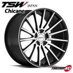 18インチ【TSW Chicane(シケイン)】18×8.5J 5/120 +30【グロスブラック/ミラーカットフェイス】【1885】