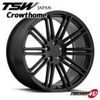 18インチ【TSW Crowthome(クロウソーン)】18×9.5J 5/112 +35【マットブラック】【1895】