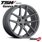 18インチ【TSW Geneva RF(ジュネーブRF)】18×8.5J 5/120 +15【マットガンメタル】【1885】