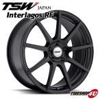 18インチ【TSW Interlagos(インテルラゴス)】18×8.0J 5/114.3 +35【マットブラック】【1880】