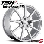 18インチ【TSW Interlagos(インテルラゴス)】18×8.0J 5/114.3 +35【シルバーw/ミラーカットフェイス】【1880】