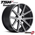 18インチ【TSW Rouge(ルージュ)】18×8.5J 5/120 +40【ガンメタル/ミラーカットフェイス】【1885】