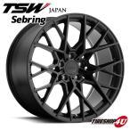 18インチ【TSW Sebring RF(セブリングRF)】18×8.5J 5/114.3 +15【マットブラックフェイス】【1885】