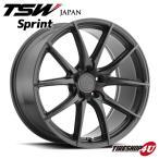 18インチ【TSW Sprint(スプリント)】18×9.5J 5/120 +20【グロスガンメタル】【1895】