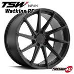 18インチ【TSW Watkins RF(ワトキンRF)】18×8.5J 5/114.3 +40【ダブルブラック(マットブラックw/グロスブラック)】【1885】