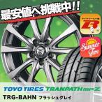 235/50R18 トーヨー TRANPATH mpZ TRG-BAHN サマータイヤホイール4本セット