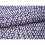 正絹ちりめん生地 単色柄 矢羽根 小 紫 31cmX50cm 縮緬細工に最適な絹生地