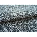 正絹ちりめん生地 単色柄 紗綾型(さやがた) 黒 31cmX50cm 縮緬細工に最適な絹生地
