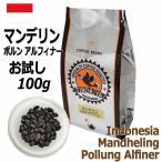 レギュラーコーヒー豆 マンデリン インドネシア ムンテ・ドライミル お試し100g フレンチロースト 深煎り 自家焙煎 TIRORIYA COFFEE