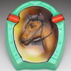 オールドノリタケ モールド馬絵 灰皿 アッシュトレイ