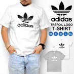 Tシャツ adidas originals アディダスオリジナル メンズ レディース 半袖 ロゴT 白 ホワイト グレー CW0710 CY4574 XS S M L XL