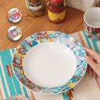 ショッピング皿 皿 お皿 ボウル 食器 プレート 陶器 かわいい おしゃれ レディース 大きい セット メキシコ パッチワークボウルM zhsjc2320