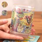 グラス コップ カップ 食器 ガラス タンブラー ツチメ キッチン雑貨 プレゼント ギフト 贈り物サボテン ルチャ サボテン&ルチャツチメグラス zisjb2336