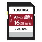 メモリーカード SDカード SDHC   16GB UHS-1 4K対応 90MB/s 海外パッケージ品 toshiba