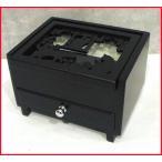 木製 アクセサリーケース 黒猫(ブラックキャット) 小さなボックスにリングとピアスをたっぷり収納 引 (0921-02)