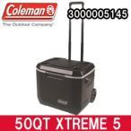 コールマン クーラーボックス 50QT エクストリーム 5 ホイールクーラー ブラック(3000005145)