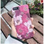 iPhone7/iPhone7Plusケース iPhone6/6sケース iPhone6Plus/6sPlusケース 花模様 薄い アイフォンケース PC スマホカバー 送料無料 新作
