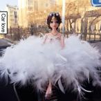 人形 ひな人形 車載用 置物 羽毛製品のウェディング ドレス プレゼント 可愛い 小物 飾り物 おもちゃ