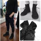 ショッピングスノーシューズ ショートブーツ メンズ 靴 ワークブーツ カジュアル シューズ エンジニアブーツ チャッカブーツ レースアップ 無地  おしゃれ 秋物 秋新作