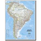 【南アメリカ・ウォールマップ South America Classic】