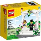 レゴ LEGO 40165 Wedding Favor Set ウェディング お祝いセット 結婚式 新郎新婦 お祝いセット 89ピース [並行輸入品]