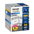 maxell ハードディスクIVDR 容量500GB 2個セット 日立「Wooo」対応 M-VDRS500G.C.2P