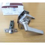 ドア取手ハンドル交換 GIKEN ホームレバーHL-1N ニッケル 空錠付 バックセット35mm、50mm、60mm
