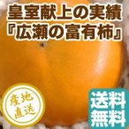 柿 フルーツ Fruits 富有柿 皇室献上の品質 特秀 Mサイズ 4kg箱 18?22個入り 産地直送 送料無料 人気 ギフト