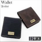EDWIN エドウィン 本革 財布 二つ折り財布 メンズ