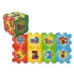 パウパトロール パズルマット 8枚組 フロアマット ジョイントマット パズル プレイマット ラグ 柔らかマット おもちゃ 子供 幼児 部屋