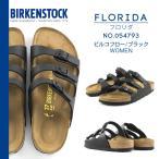 ショッピングサボ BIRKENSTOCK ビルケンシュトック FLORIDA フロリダ ビルコフロー/ブラック レディース/幅狭 054793