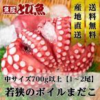 たこ 約2kg(4〜10尾)  下処理済 若狭 マダコ タコ 蛸 不揃い(内臓取り/塩もみ済) 生 冷凍