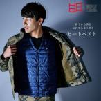 HOOH ヒートベスト(Vネック) 軽量・防寒性抜群 小型バッテリー別売り 1077