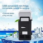 LED ミニ冷蔵庫 USB冷蔵庫 ドリンク飲料缶 冷蔵庫ヒーター車用冷蔵庫 ポータブル冷蔵庫 静音 軽量 飲み物保管 保