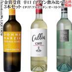 金賞 白ワイン3本セット フランスワイン AOCボルドー&イタリア サレント I.G.P. アルゼンチン 750ml