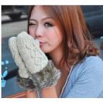 レディース 手袋 ニート手袋 可愛い手袋 ファー 手袋 防寒用品