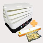 Yahoo!東明テック【全国送料無料】家庭用食品乾燥機プチマレンギ+家庭用真空パック器フードメイト(お得なセット)