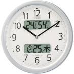 【アウトレット品】シチズン電波掛け時計「ネムリーナカレンダーM01」4FYA01-097-19